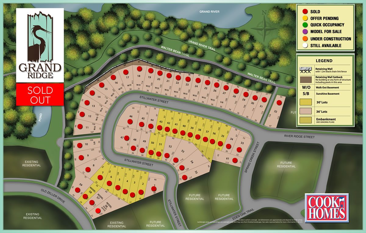 Grand Ridge Site Plan