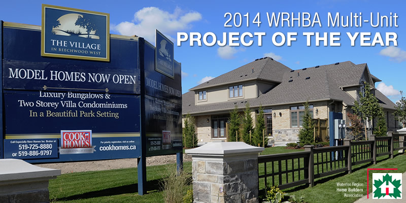 WRHBA 2014 Project of the Year